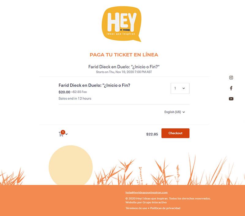 Pagos en línea: Hey-Ideas que inspiran