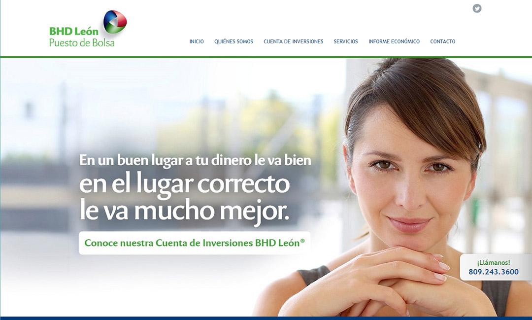 Screenshot de BHD León Puesto de Bolsa