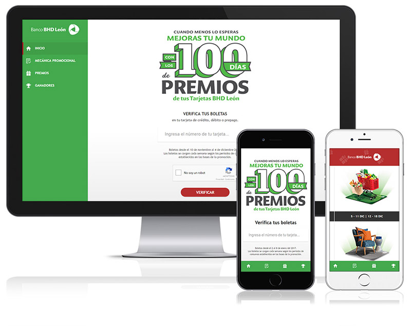 Aplicación web Promociones BHD León