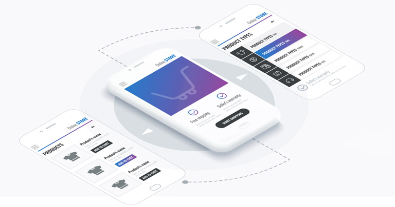 Aplicación móvil de ecommerce