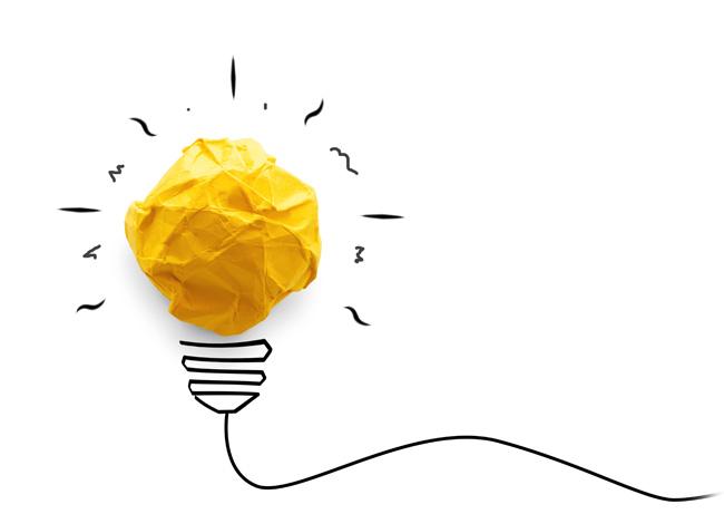 Concepto de idea: bombillo-bulb