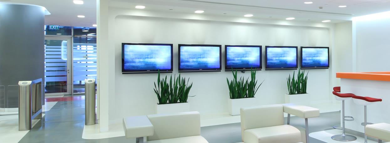 Redes de pantallas digitales