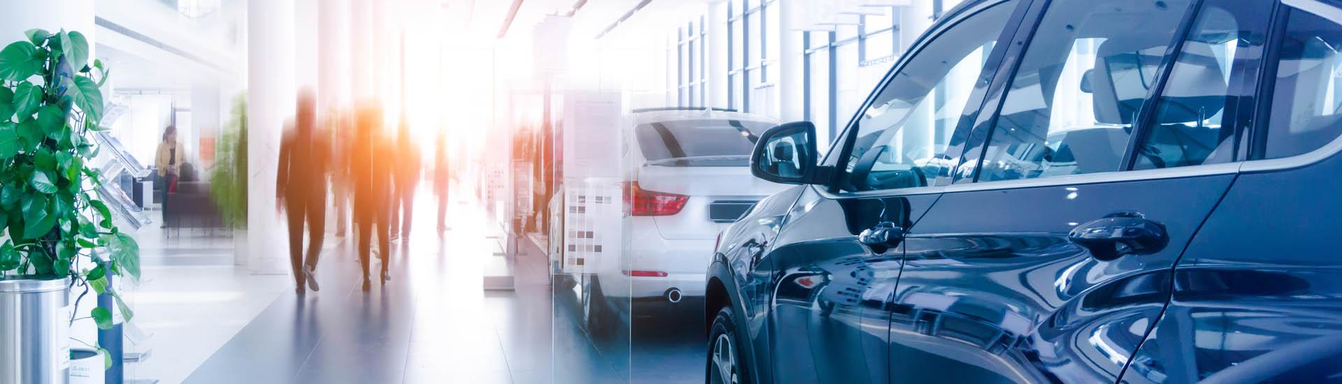 Showroom de vehículos