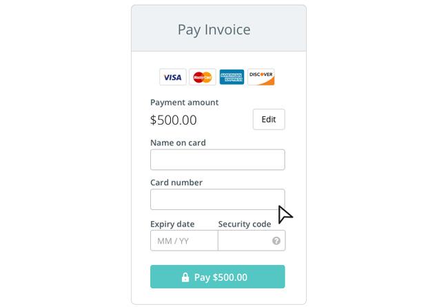 Formulario de pagos