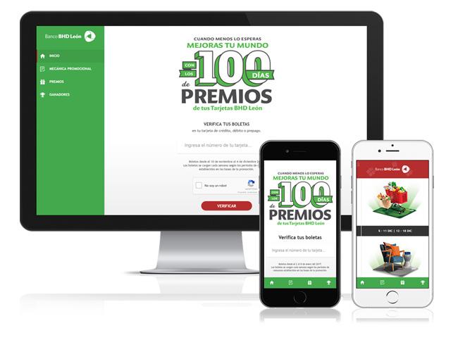 Plataforma de promoción online BHD León
