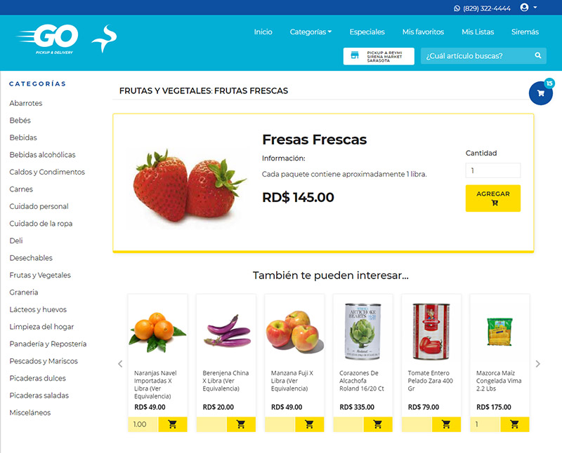 UX Website SirenaGo