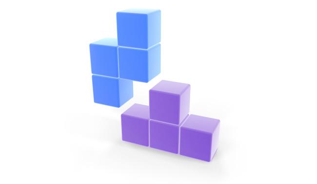 Piezas del juego Tetris