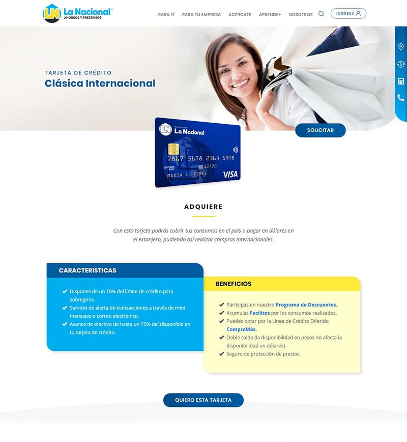 Website La Nacional